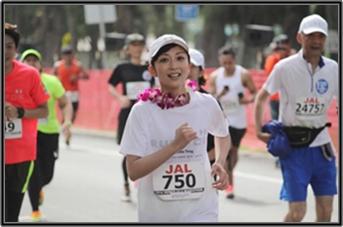 持田香織マラソン