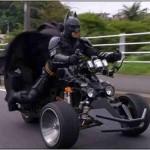 ハロウィンゴミ拾いのチバットマン…正体は誰?素顔とバイク車種は